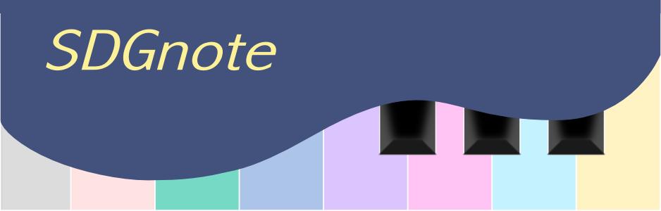 SDGnote